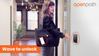 """Openpath Releases Advanced """"Wave to Unlock"""" Contactless Technology to Reduce Risk for Workplace Re-Entry"""