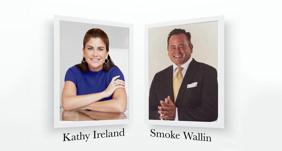 Kathy Ireland and Smoke Wallin