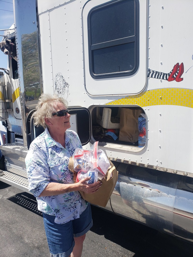 TEAR has deployed a network of volunteers to distribute PPE kits to truck drivers on the front lines.