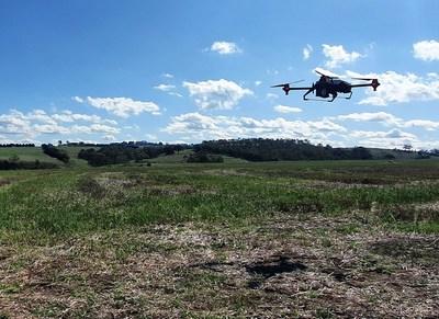 XAG Drone Seeding to Help Vegetation Regeneration in Australia