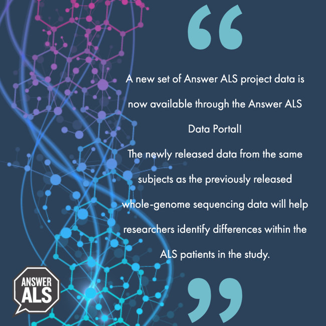 A new set of rich Answer ALS project data is now available through the Answer ALS Data Portal.