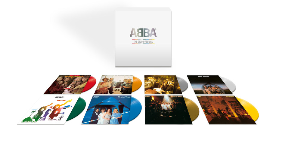 Nearly 40 years since the release of their last album, ABBA are celebrating their entire studio discography with an 8LP box set that features each of their ground-breaking records for the first time on colored vinyl, and with replica LP artwork. Due for release on July 3, ABBA: The Studio Albums is an essential release for fans of one of the greatest pop groups of all time.