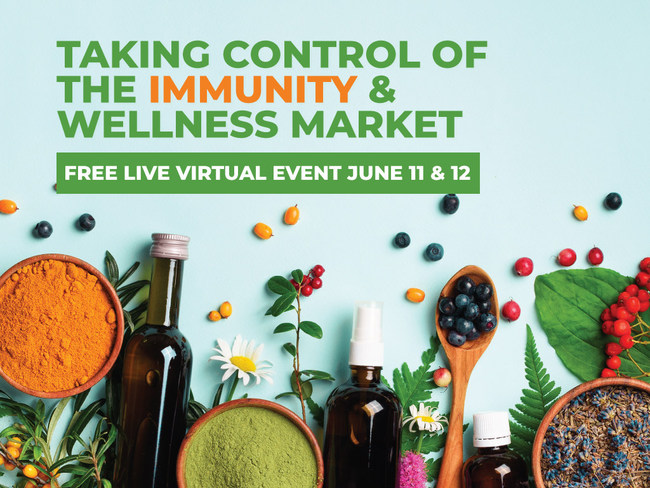 "Covering the entire development and marketing lifecycle ""From paper to product to positioning to profit,"" the two-day Taking Control of the Immunity & Wellness Market online event will combine world-class speakers, exceptional education, highly qualified leads and networking."