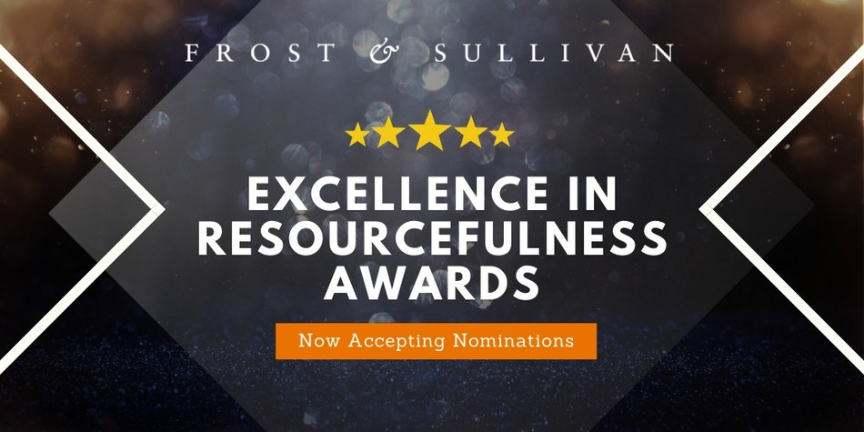 Frost & Sullivan - Excellence in Resourcefulness Awards (PRNewsfoto/Frost & Sullivan)