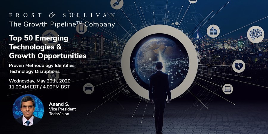 Top 50 Emerging Technologies Webinar