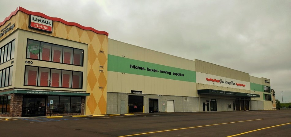 U-Haul officially opens its newest retail and indoor self-storage facility today at 600 S. Holland St.