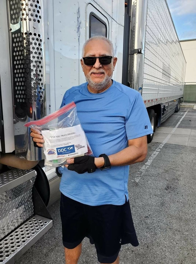 """""""From the bottom of our hearts, we would like to thank each and every truck driver for being an essential part of the frontline,"""" said DDC's COO and President Marissa Crotty. """"Thank you for the sacrifices you continue to make to keep delivering supplies to all parts of our country."""""""
