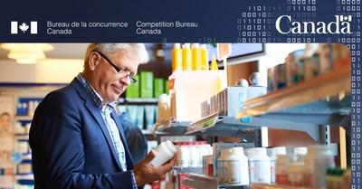 Le Bureau de la concurrence protège les consommateurs contre de possibles dommages dus aux indications de perte de poids de NuvoCare (Groupe CNW/Bureau de la concurrence)