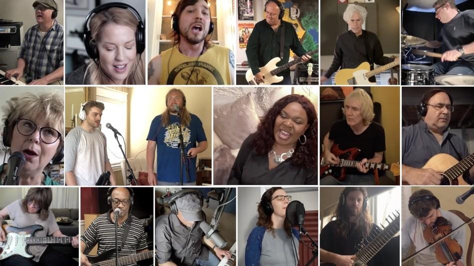 "Cincinnati musicians collaborate with Cincinnati Children's to perform ""Lean On Me"""