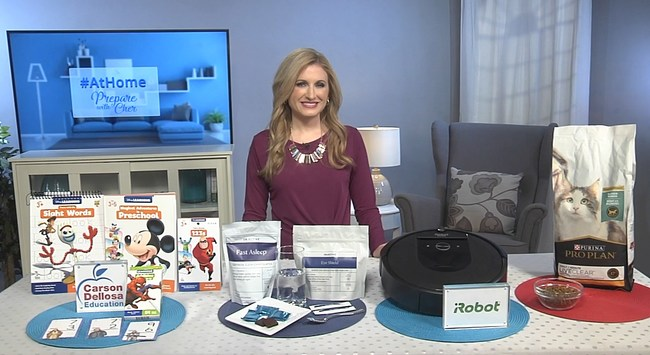 Meteorologist and certified Instructor Cheryl Nelson shares tips for making staying at home during quarantine easier.