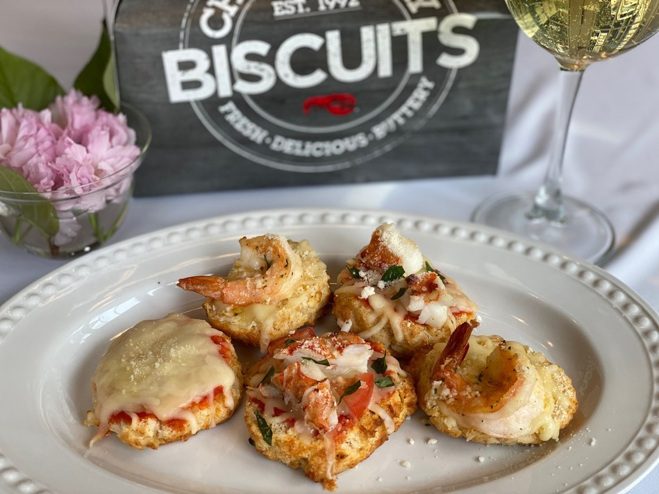 Red Lobster® is encouraging guests to create at-home recipes featuring Cheddar Bay Biscuits® for National Biscuit Day, such as the Cheddar Bay Biscuit Pizza Bites.