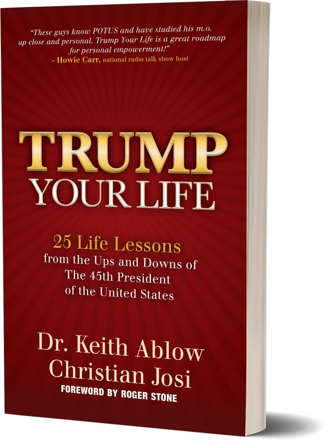 Trump Your Life is the ultimate personal empowerment program, giving readers 25 keys to President Trump's incredible success in business, entertainment and politics. Now, you can learn the secrets of our 45th President's phenomenal power to win against all odds and use them to achieve any goal.