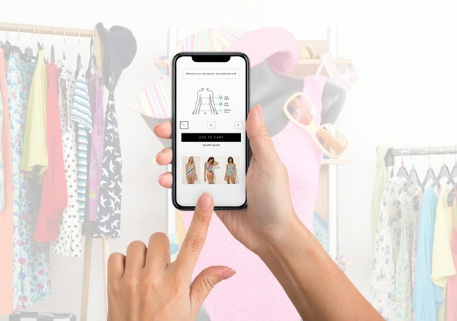 Bold Metrics Contactless Fit™ is an AI-powered solution for apparel brands to connect customers to clothes that fit them best according to individual body shape and size, without the need to try-on any actual clothing. A powerful first-to-market solution that can be used both in-store and online to help apparel brands navigate the retail challenges of a post-COVID world, it also takes into account individual fit and style preferences for a more personalized retail experience.