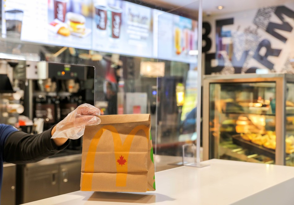 McDonald's Canada announced its plan for welcoming guests back into its restaurants, beginning with the gradual reintroduction of take-out service. McDonald's will reopen 30 locations across Canada outfitted with new protective measures and procedures, ahead of a national roll-out. (CNW Group/McDonald's Canada)