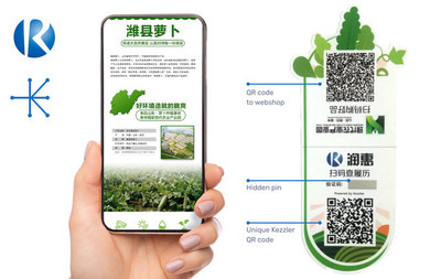 Kezzler Delivers Farm-to-fork Authenticate and Traceability System to Chinese National Agricultural Park