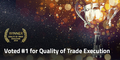 FP Markets rated as Best for Quality of Trade Execution