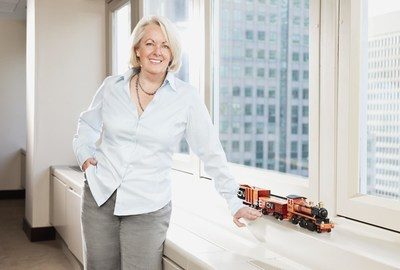 Fiona Murray, vice-president of Public and Government Affairs, CN (CNW Group/RAILWAY ASSOCIATION OF CANADA)