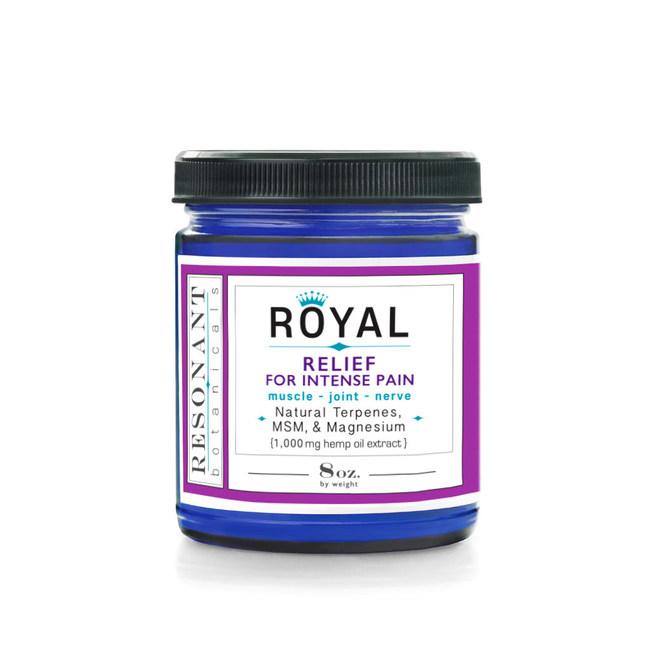 Royal CBD Pain Relief Cream.