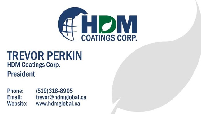 Trevor Perkin President of Coatings Corporation contact info