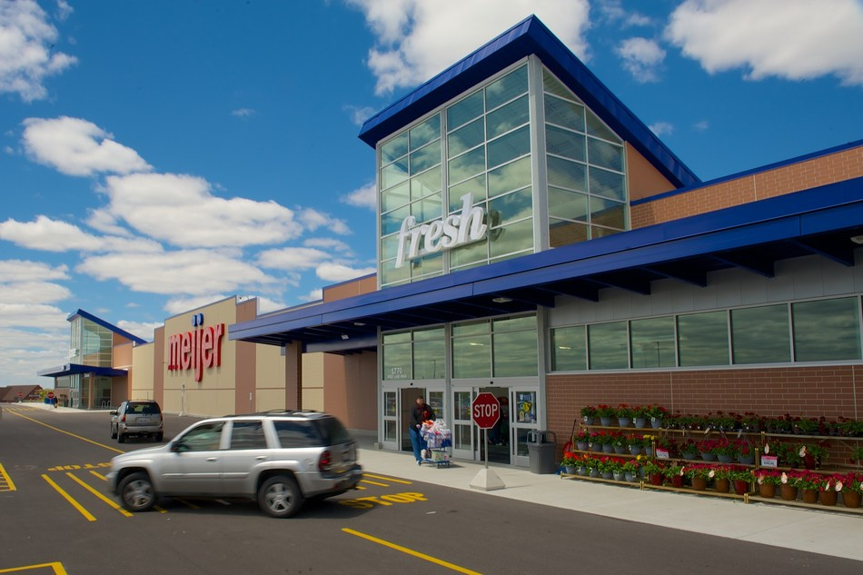 Meijer announced today it is adjusting store hours to allow more time for customers to get their shopping essentials and extending the times its stores dedicate to senior citizens, customers with chronic health conditions, essential service workers and its team members. (PRNewsfoto/Meijer)