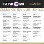 """Century 21 Real Estate Hispanic Sales Professionals Honored In """"NAHREP Top 250 Report"""" For Industry-Leading Performance"""