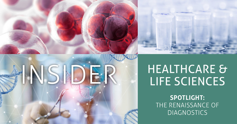 Diagnostic testing is at the forefront of the novel coronavirus (COVID-19), stimulating substantial spending on testing infrastructure to address the pandemic, according to the Healthcare & Life Sciences Insider, an industry report released by Brown Gibbons Lang & Company (BGL).