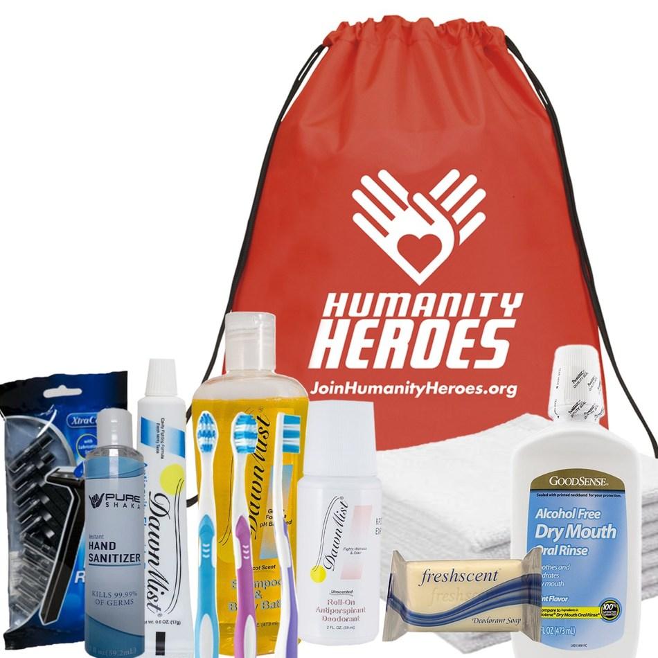 Humanity Heroes Hygiene Backpack