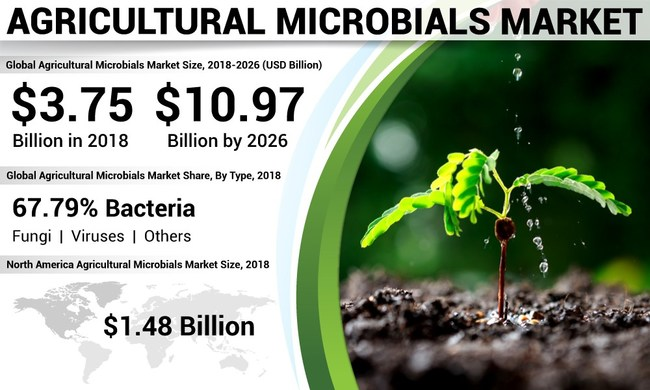 Agricultural Microbials Market Analysis, Insights and Forecast, 2015-2026