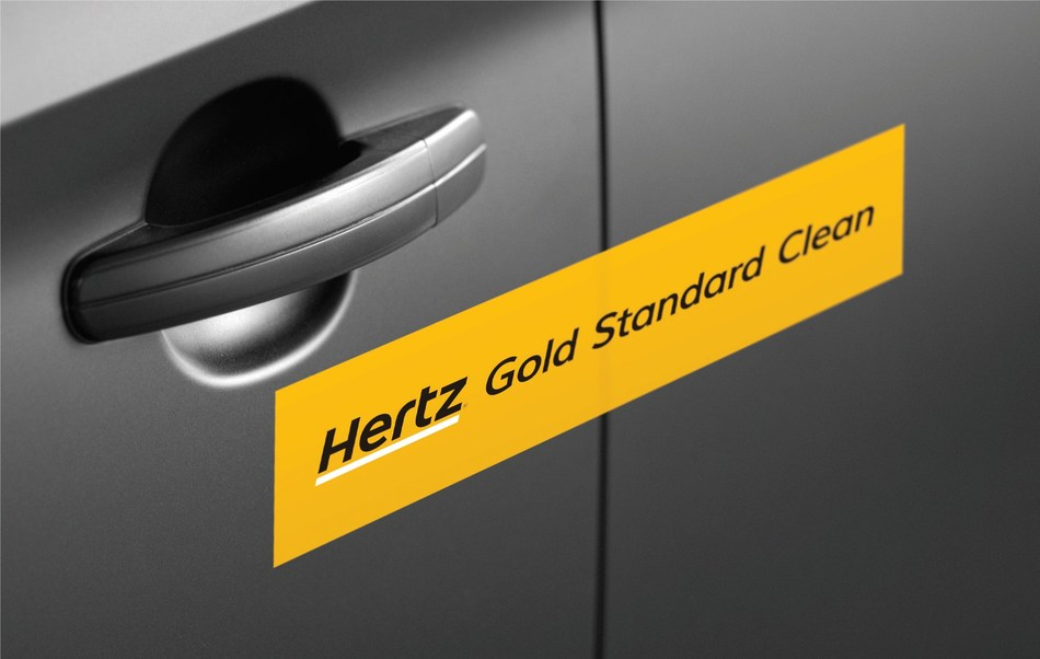 Hertz Introduces Hertz Gold Standard Clean Sealed and Certified ...