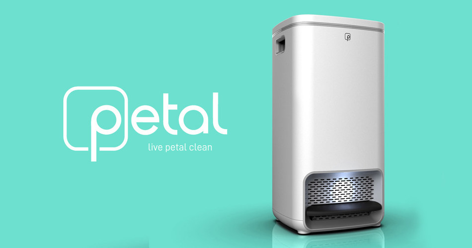 Petal is the world's first zero-odor, germ-freezing waste bin that does what no other disposal device can: stops rot, eliminates stink, and halts the spread of germs.