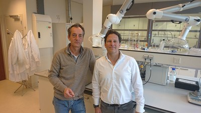 Johan Bender (left) and Geert van Gansewinkel