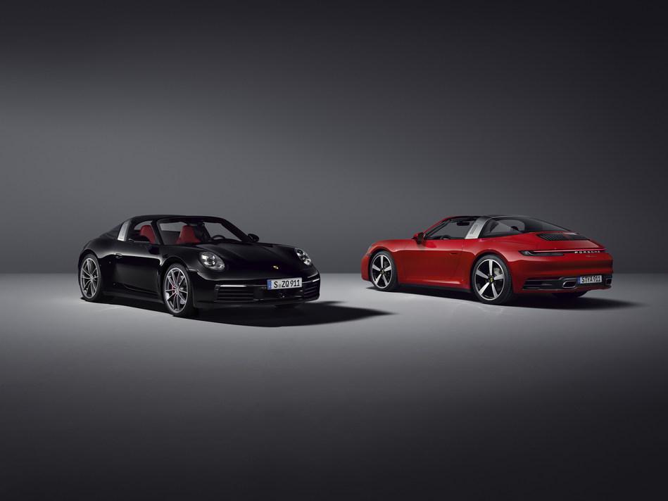 2021 911 Targa 4 & 911 Targa 4S