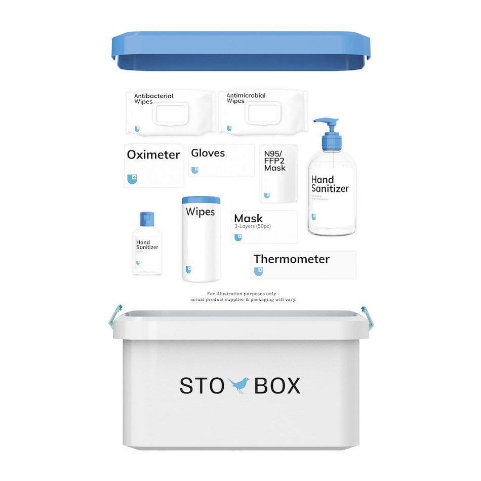 StoBox and contents