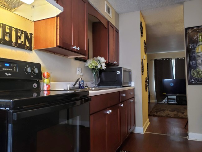 Apartments for rent completely renovated with second-chance programs to make renters feel at home.
