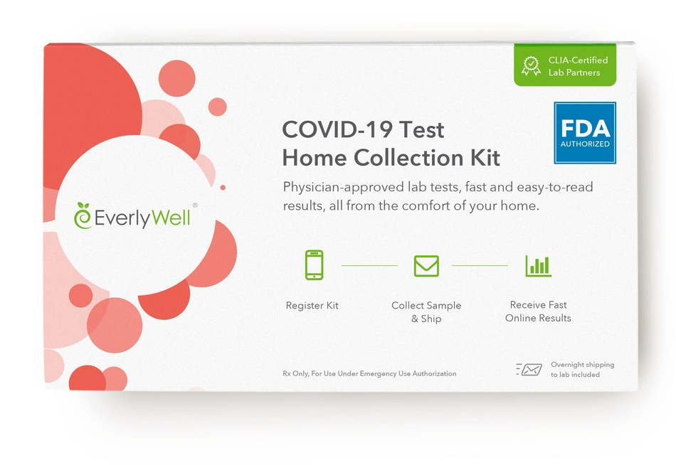 Everlywell COVID-19 Test Home Collection Kit