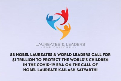 Kailash Satyarthi calls on for Child protection with 88 Laureates and Leaders