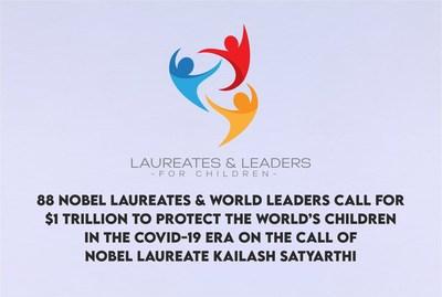 88位諾貝爾獎得主和世界領導人呼吁保護兒童