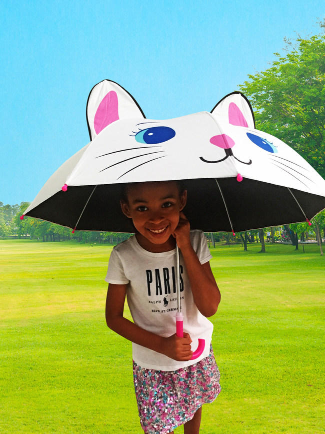Fun kid safe umbrellas for your child that protects them from the sun and the rain!