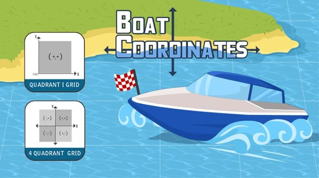 MathNook's latest coordinate grid game