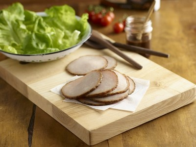 The new Hormel® Natural Choice® hardwood smoked lunch meats are expertly crafted products – smoked in netting over real wood chips for over four hours – include exciting flavors like applewood ham, applewood turkey with garlic and herbs, pecanwood ham with sweet black pepper and pecanwood ham with brown sugar.