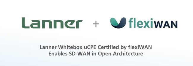 Lanner's white-box uCPE hardware NCA-1510 becomes pre-validated for flexiWAN's SD-WAN to liberate enterprises and service providers from vendor lock-in equipment, allowing the implementation of third-party VNF and simplified management in traffic routing and application-optimization