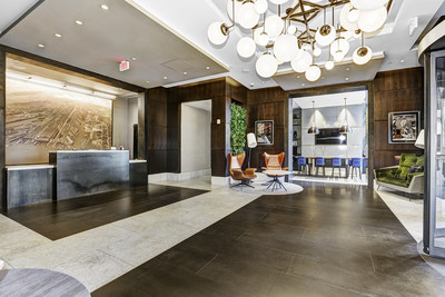 Renovated lobby - BLVD Collection