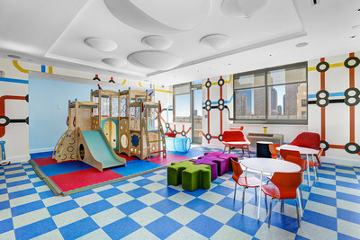 Renovated children's play area - BLVD Collection