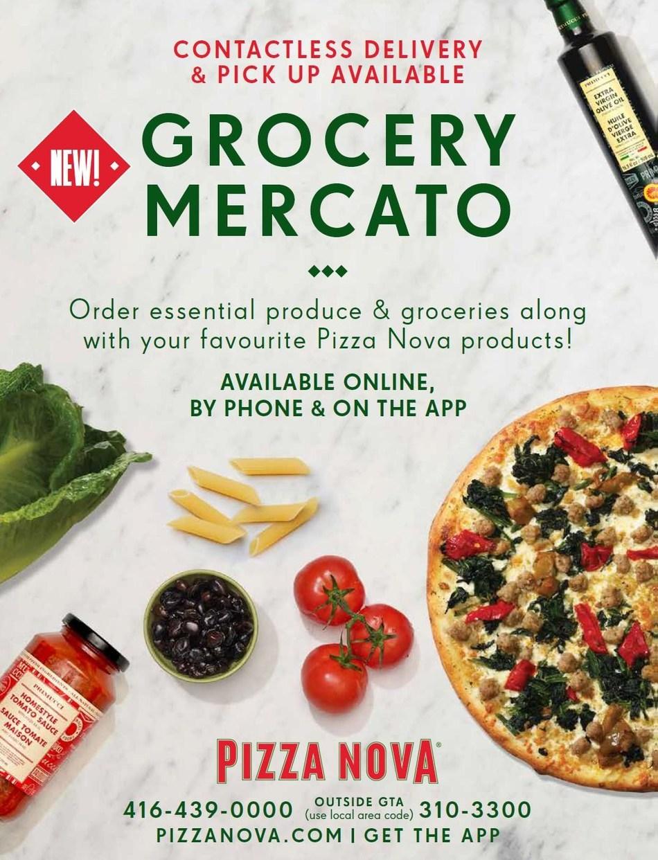 Pizza Nova Grocery Mercato (CNW Group/Pizza Nova)