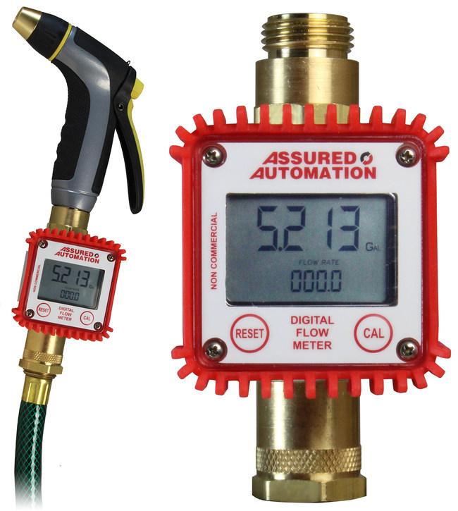 M-P Water Meter on a Garden Hose