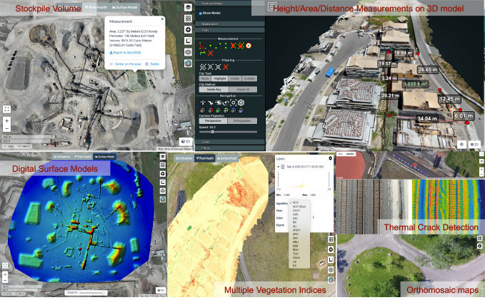 New analytics in DroneInch 3.0 automation software help organizations gain insights from their flight data in hours instead of days