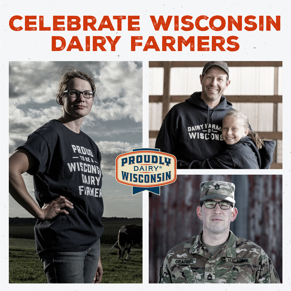 National Dairy Month is a time-honored tradition that's spanned nearly 90 years. This year, perhaps more than ever, it's an opportunity to celebrate Wisconsin's dairy farmers. Their tireless commitment to producing real, nutritious milk and other wholesome dairy products for their communities is stronger than ever. (PRNewsfoto/Dairy Farmers of Wisconsin)