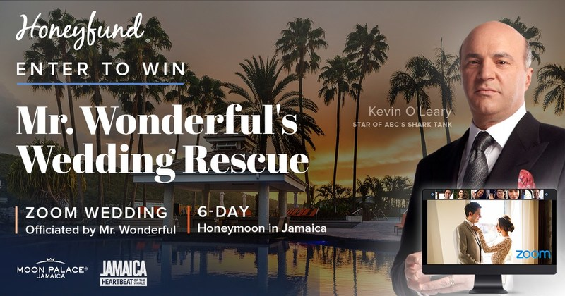Enter to win Honeyfund's Mr. Wonderful Wedding Rescue giveaway.