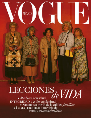 Portada de Vogue México mayo- junio