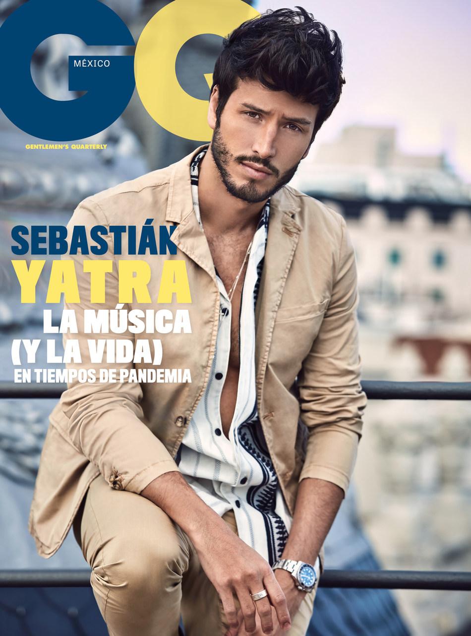 Sebastián Yatra, portada mayo - junio de GQ México